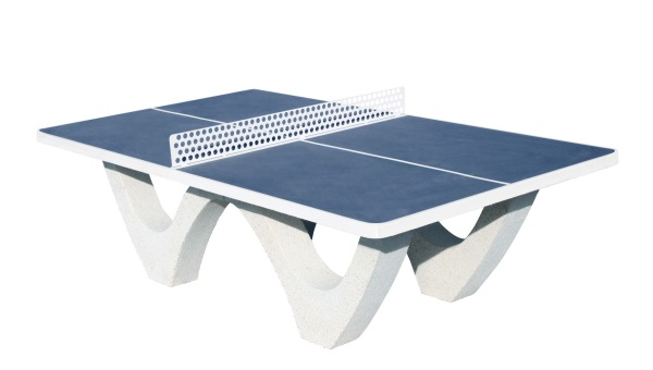 j692b table ping pong beton bleue satd fabricant d 39 quipements sportifs et d 39 aires de jeux. Black Bedroom Furniture Sets. Home Design Ideas
